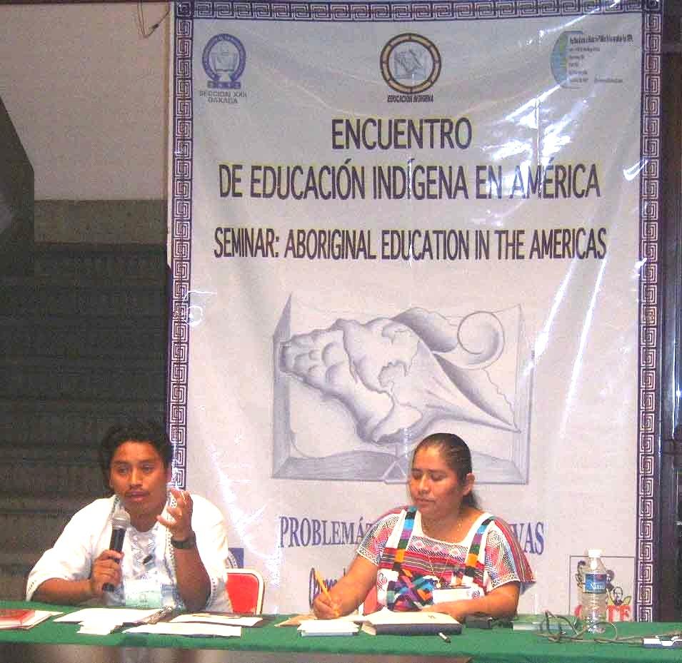 Elvis - Primer Encuentro de Educadores Indígenas