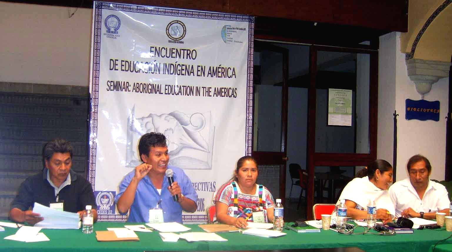 Ricardo - Primer Encuentro de Educadores Indígenas